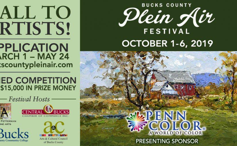 Call to Artists – 4th Annual Bucks County Plein Air Festival