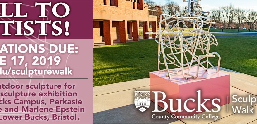 Call to Artists! Sculpture Walk at Bucks County Community College