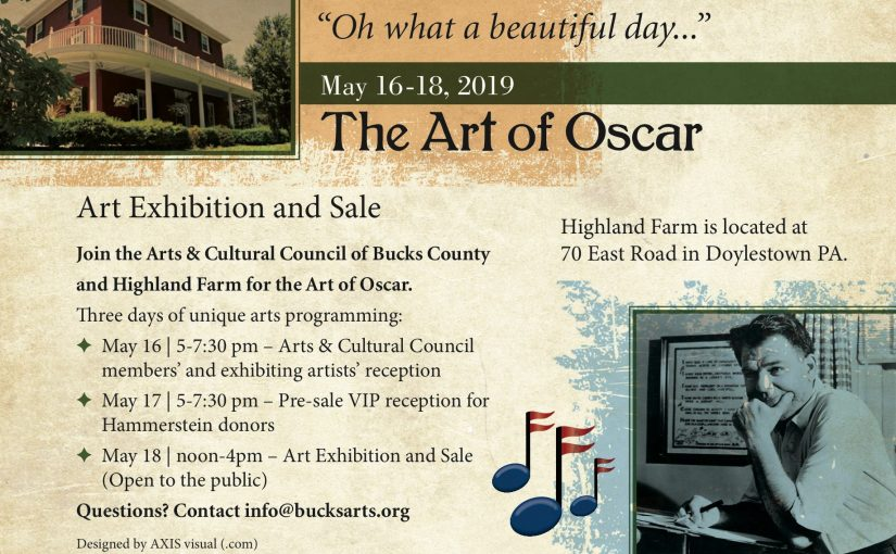 The Art of Oscar – Art Exhibition and Sale — Open to the Public