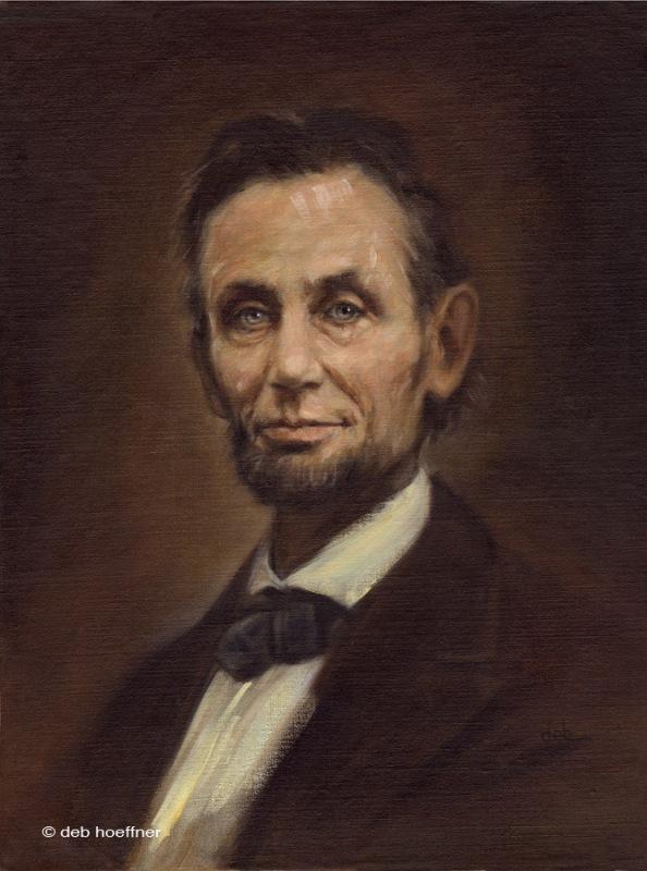 Abraham Lincoln portrait, Deb Hoeffner
