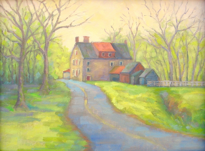 Spring Morning at Stover Myers Mill, Carol Gilbert