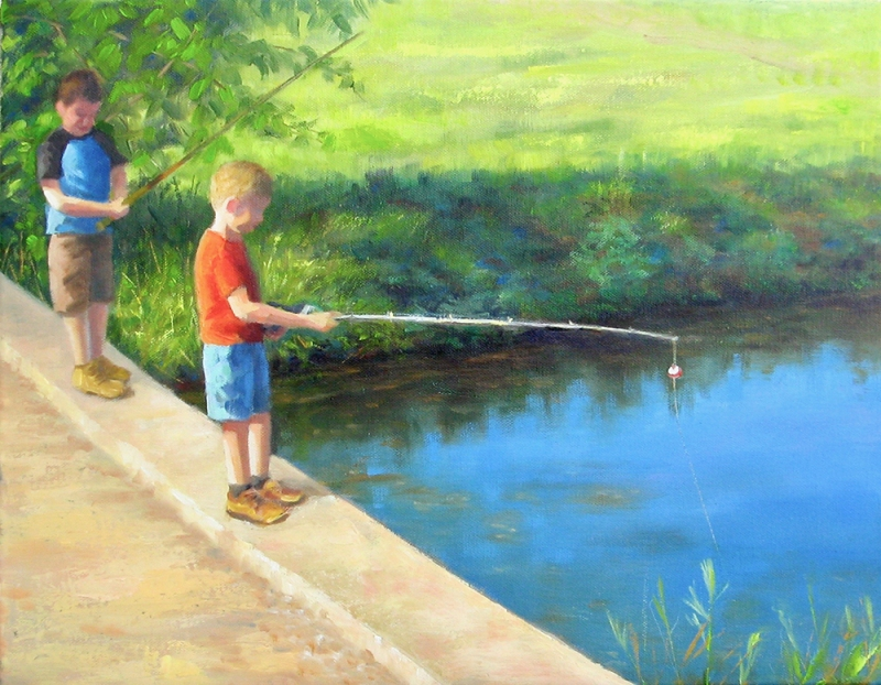The Ol' Fishing Hole, Carol Gilbert
