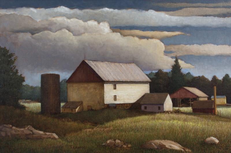 Sergeantsville Farm, Tom Chesar
