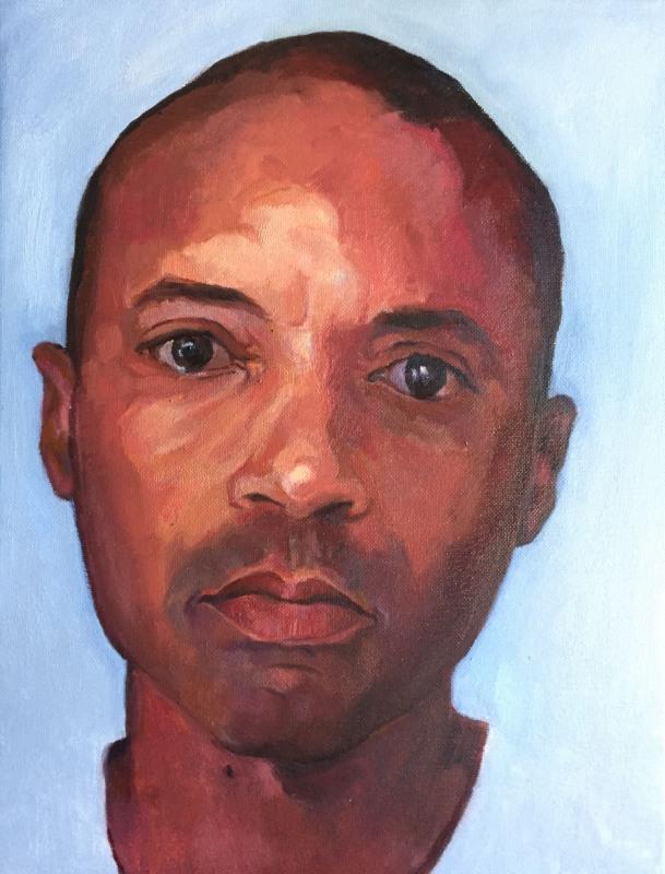 Portrait of George Lombard, Elisa Dodeles