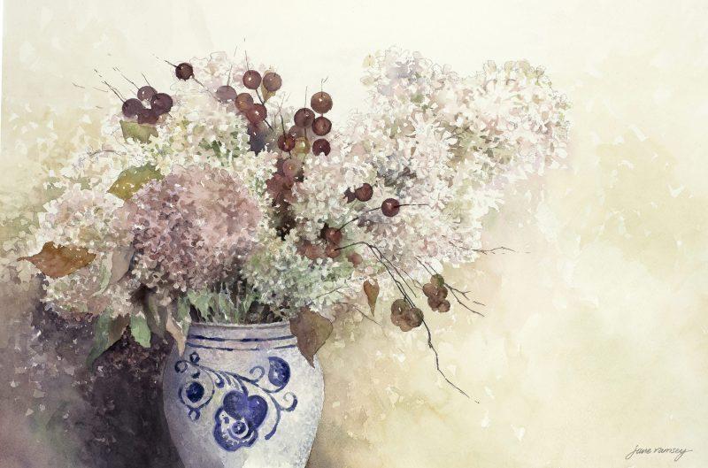 Carolyn's Flowers, Jane Ramsey