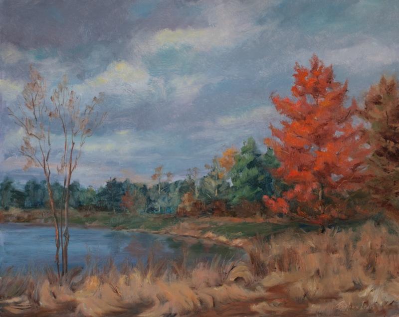 Hansel Park in Fall, Barbara Lewis