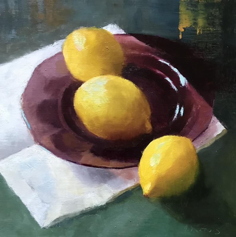 Plated Lemons, Judith Nentwig