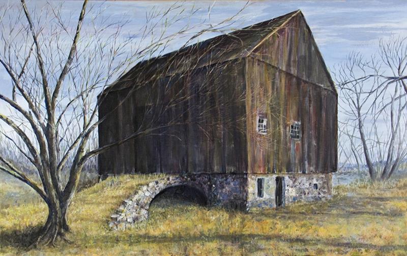 Pennsylvania Bank Barn, David C. Page