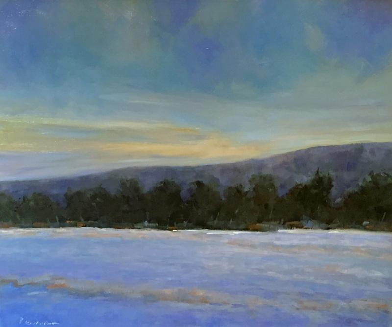 Snow Lighted Valley, Roy Reinard
