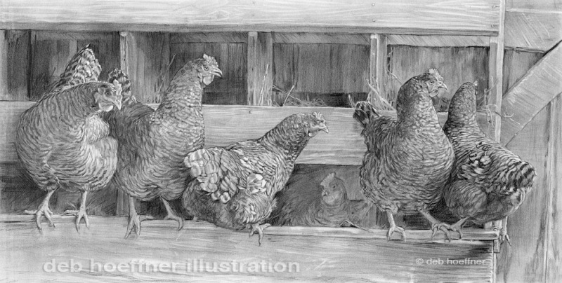In the Hen House, Deb Hoeffner