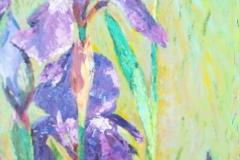 Irises, Maggie Leiby