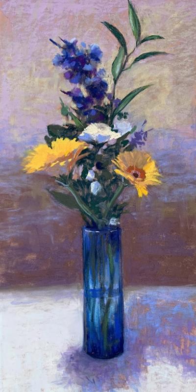 Blue Glass, Helena Van Emmerik-Finn