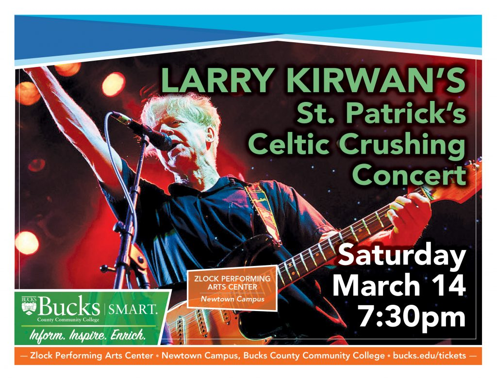 Larry Kirwan's St Patrick's Celtic Crushing Concert