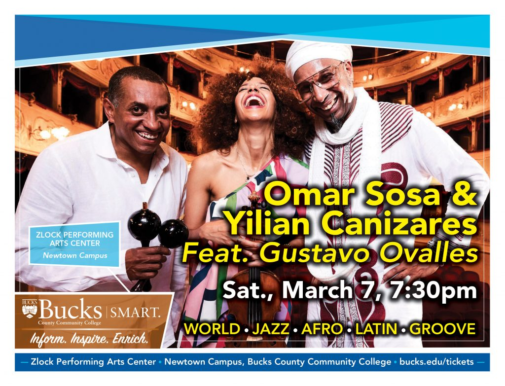 Pianist Omar Sosa and violinist-vocalist Yilian Cañizares