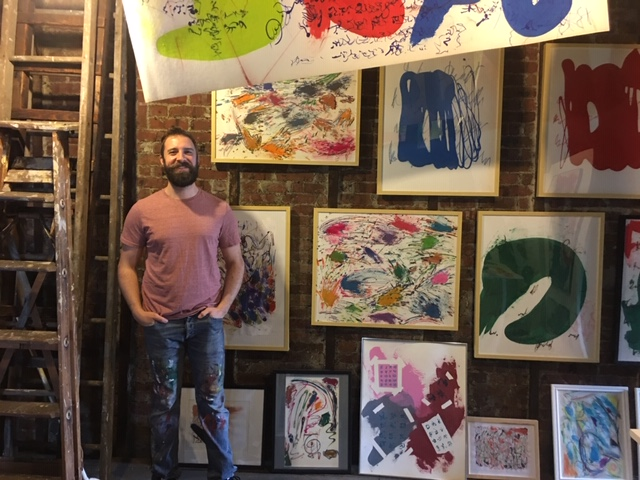 Vincent Hawley studio/gallery at the A-Space @ New Hope Arts | January 1-April 30, 2021