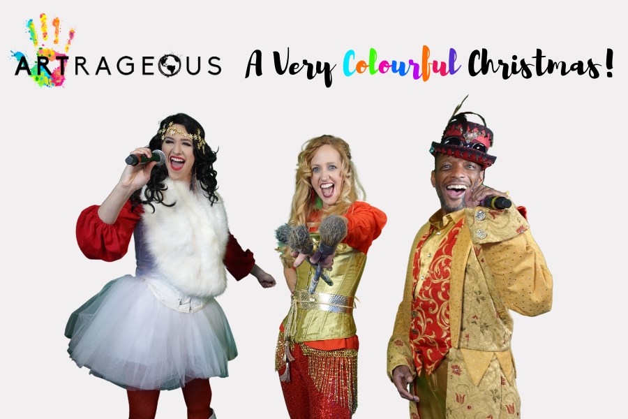 Artrageous – A Very Colourful Christmas – VIRTUAL EVENT