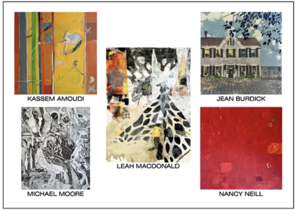 Jean Burdick Solo Exhibition at Cerulean Arts Gallery | May 5-30