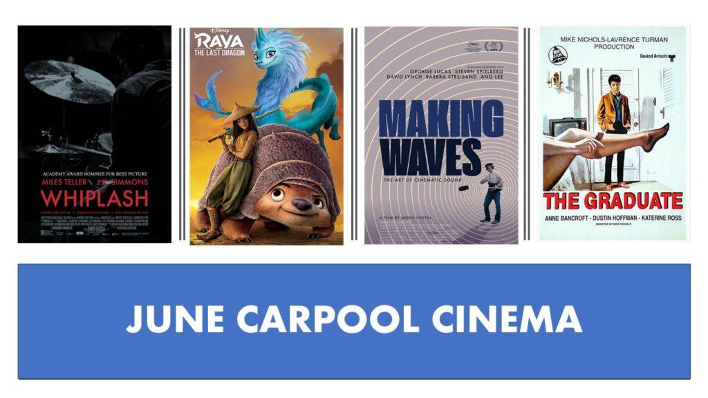 THE WEEKLY ACME CARPOOL CINEMA | June 5, 11, 12, 19, 26