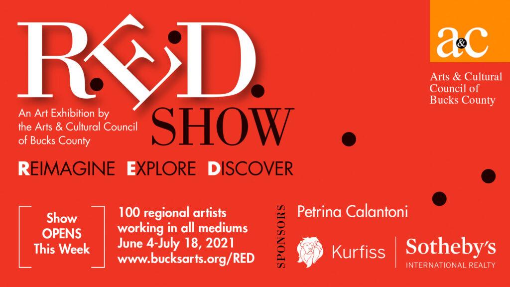 R.E.D. Show | Reimagine, Explore, Discover New Works |June 4-July 18