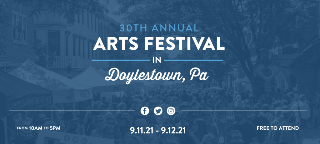 Doylestown Arts Festival | September 11-12, 10am-5pm | A&C at Booth #15