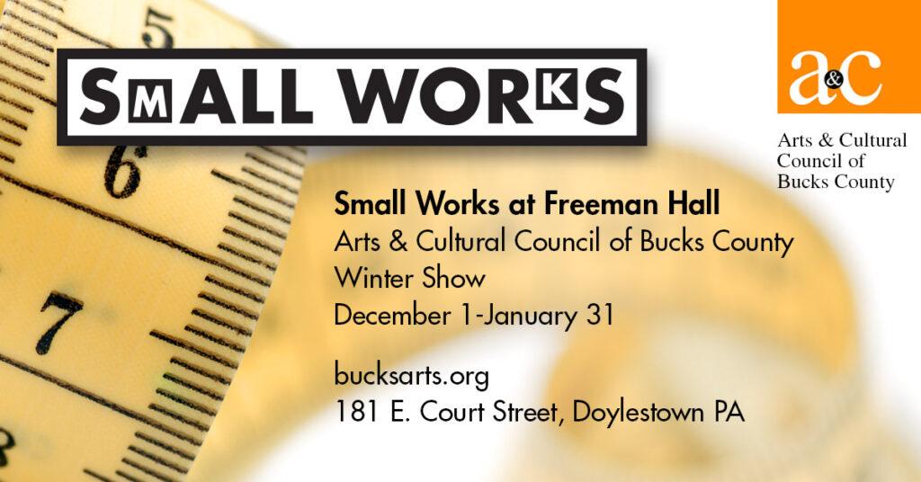 Small Works at Freeman Hall | December 1-January 31